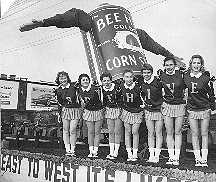 Bee Hive Corn Syrup Cheerleaders