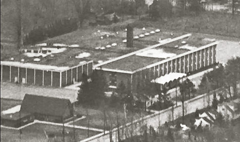 Aerial view of PCSS in 1966